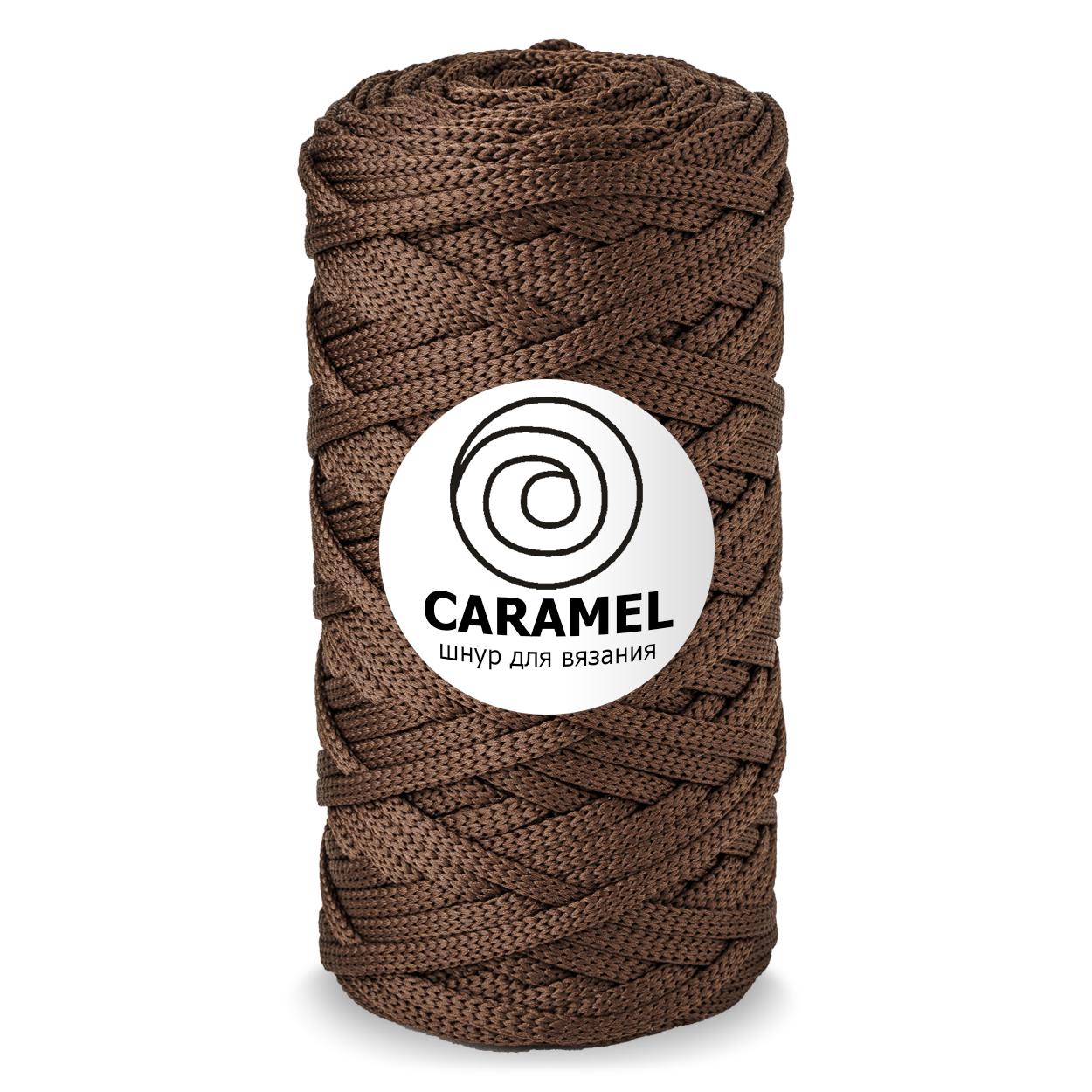 Плоский полиэфирный шнур Caramel Полиэфирный шнур Caramel Трюфель trufel-1250x1250_1_.jpg
