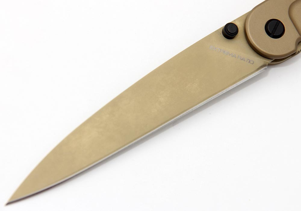 Нож Extrema Ratio BF3 Dark Talon EX/135BF3 GOLD - фотография
