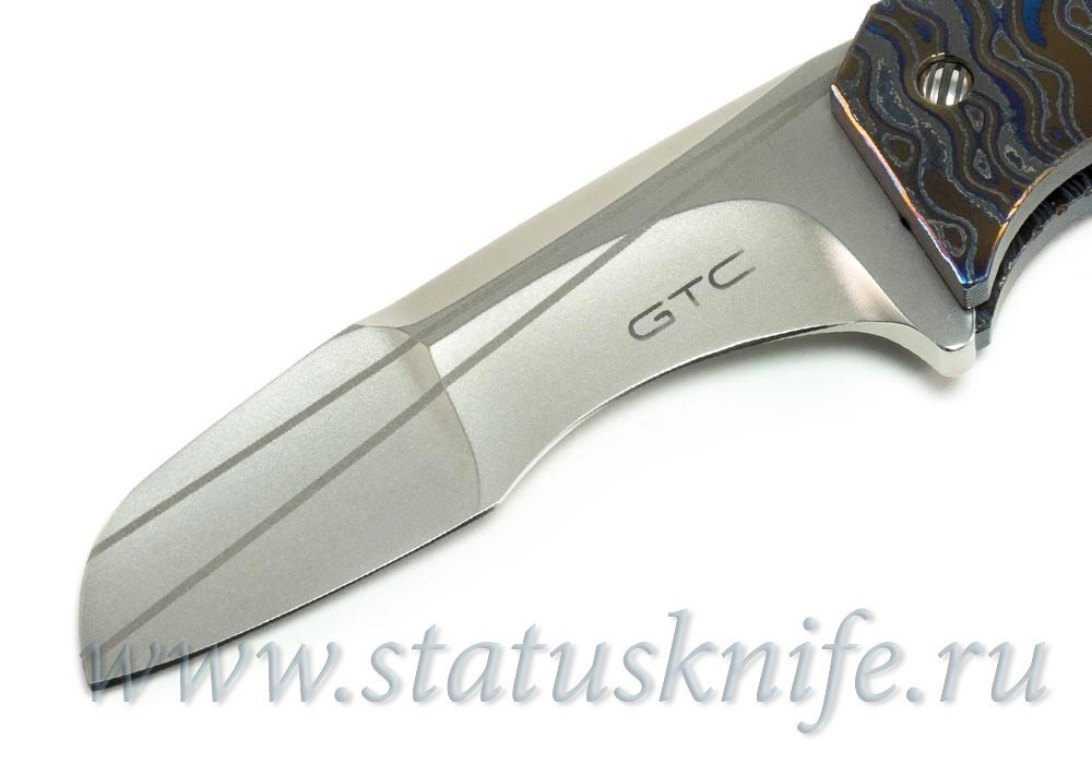 Нож GTC Gustavo Cecchini «50 cal FULL Zirco-Ti» - фотография