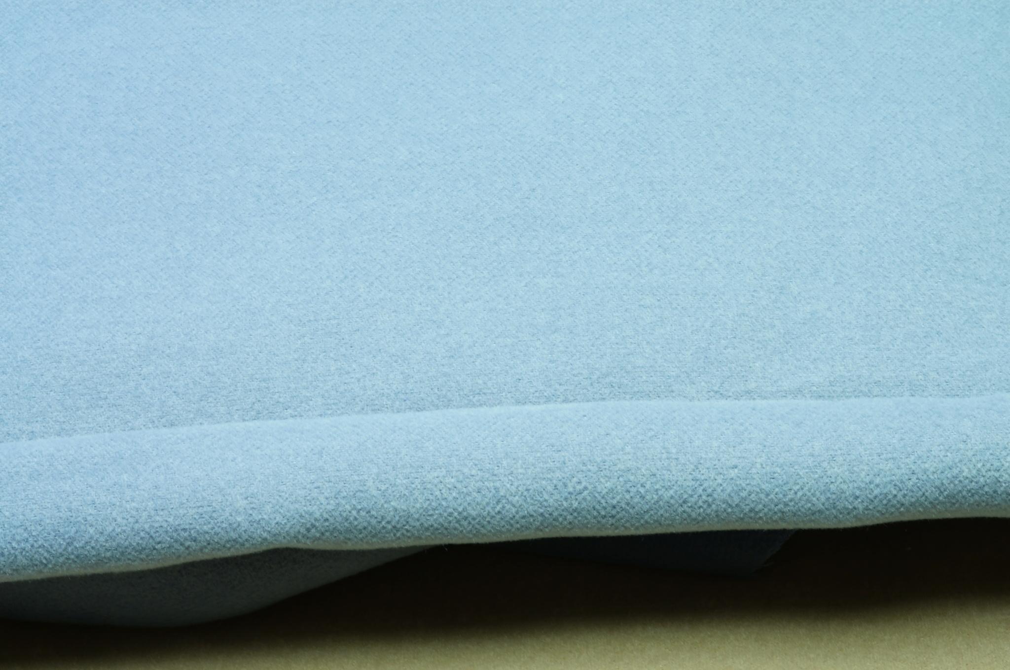 Обшивка потолка Газ 21 байка велюр сине-серый