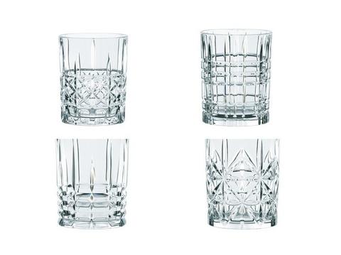 Набор хрустальных стаканов для виски Nachtmann Highland 4 шт, 345 мл