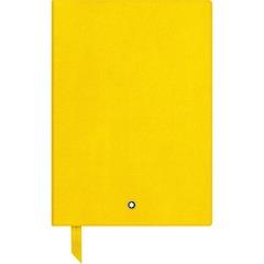 Записная книжка А5 желтого цвета, линованные страницы