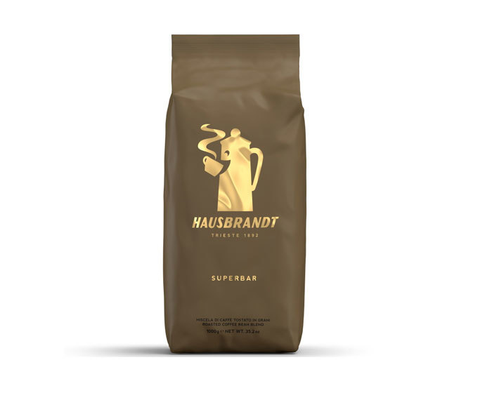 купить Кофе в зернах Hausbrandt Superbar, 1 кг темная обжарка