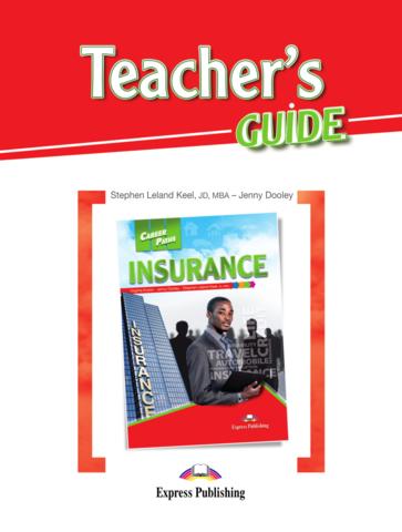 Insurance (ESP). Teacher's Guide - Книга для учителя с методичкой