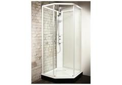 Душевая кабина профиль белый, стекло прозрачное 90x90 IDO Showerama 8-5 4985022909