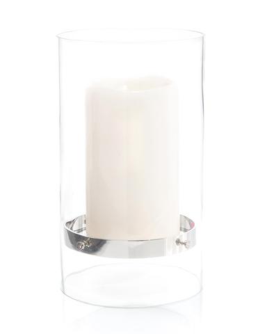 Floating Candleholder in Nickel III