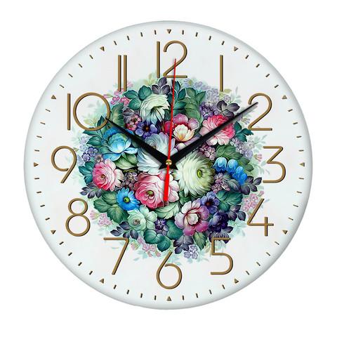 Часы Розы с васильками