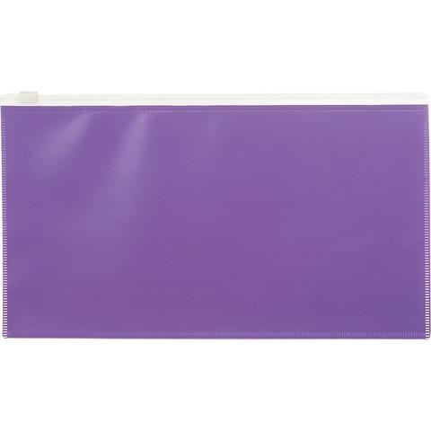 Папка на молнии 264х150 мм Attache Color , фиолетов