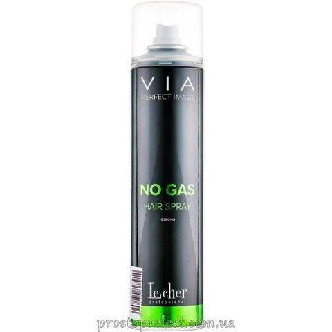 LeСher Professional Via Spray&Go Hair Spray - Лак для волос без газа экстра сильной фиксации
