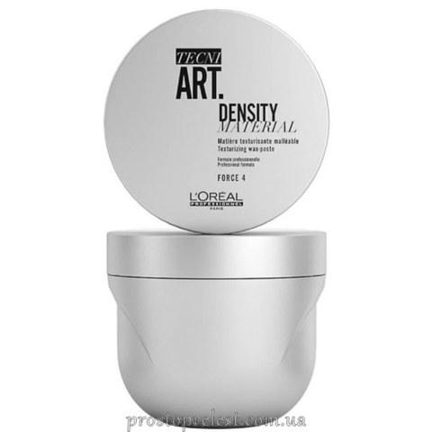 L'Oreal Professionnel Tecni Art Density Material Wax-Paste - Уплотняющая воск-паста для укладки коротких волос