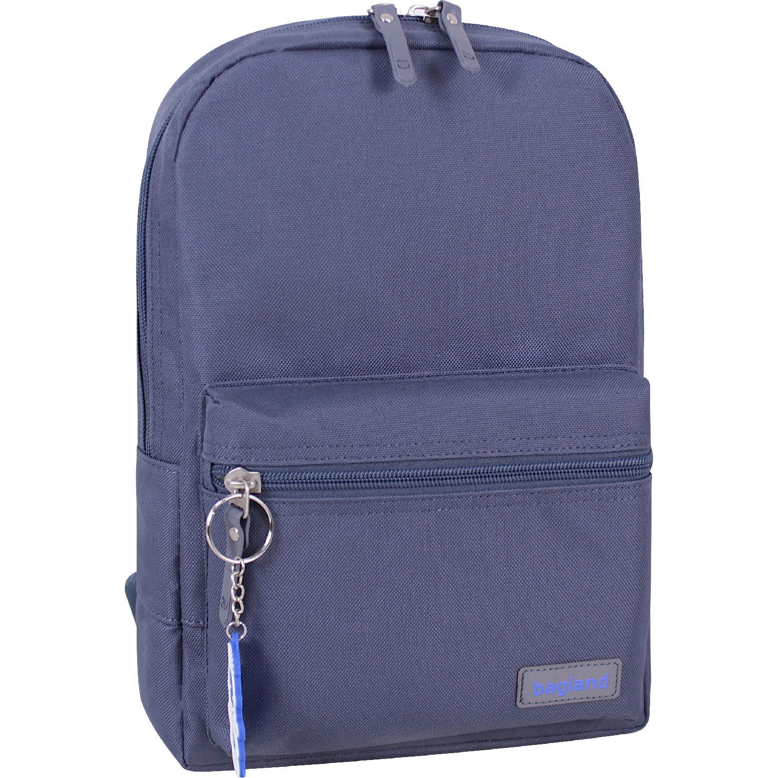 Молодежные рюкзаки Рюкзак Bagland Молодежный mini 8 л. серый (0050866) IMG_0111.jpg