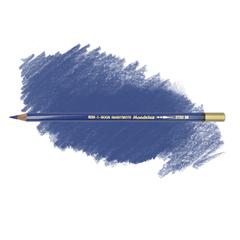 Карандаш художественный акварельный MONDELUZ, цвет 55 синий прочный