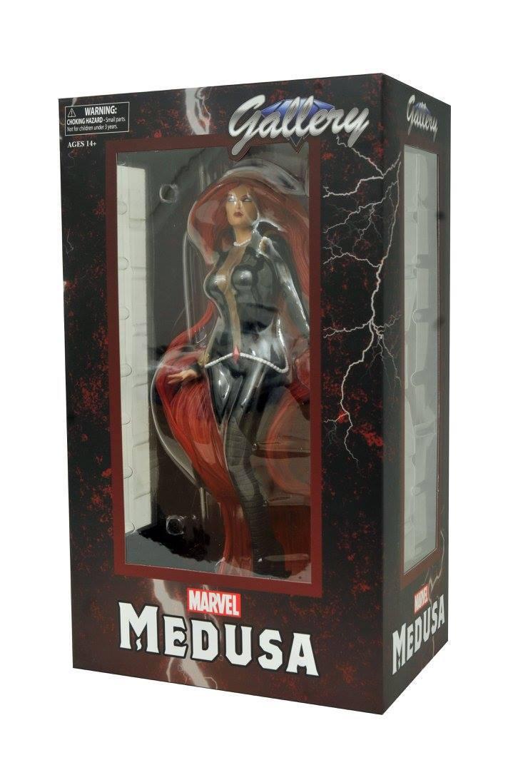 Марвел Галерея фигурка Медуза — Marvel Gallery Medusa