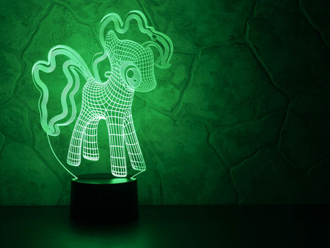 3D ночник Little Pony