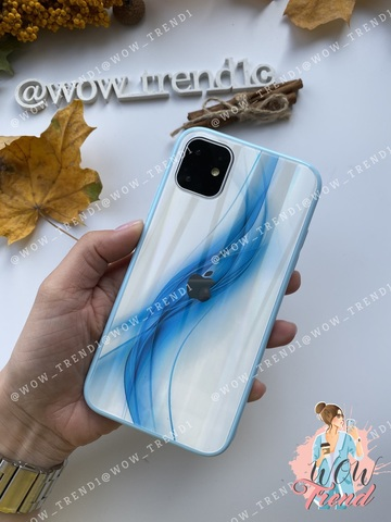 Чехол iPhone 7/8 Plus Polaris smoke Case Logo /blue/