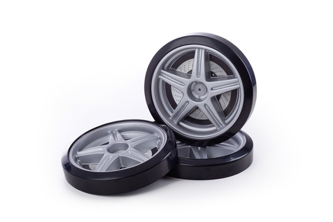 Объемные пластиковые колеса для серии LIGHT Ауди А4 и Камаро комп 2 шт