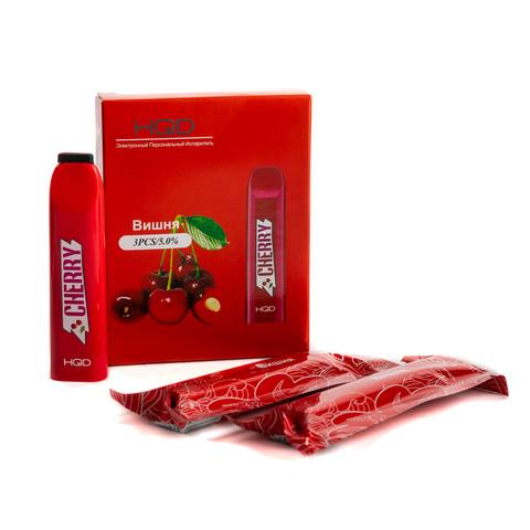 Одноразовая электронная сигарета HQD V2 Cherry (Вишня) 1 шт