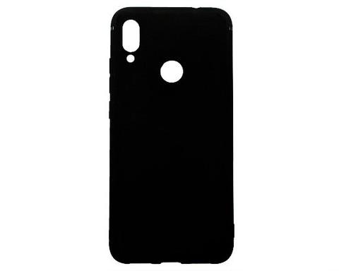 Чехол для Xiaomi Redmi Note 7/Note 7 Pro/Note 7S | силикон черный