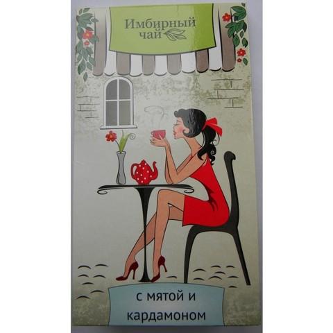 Имбирный чай с мятой и кардамоном 30 г.