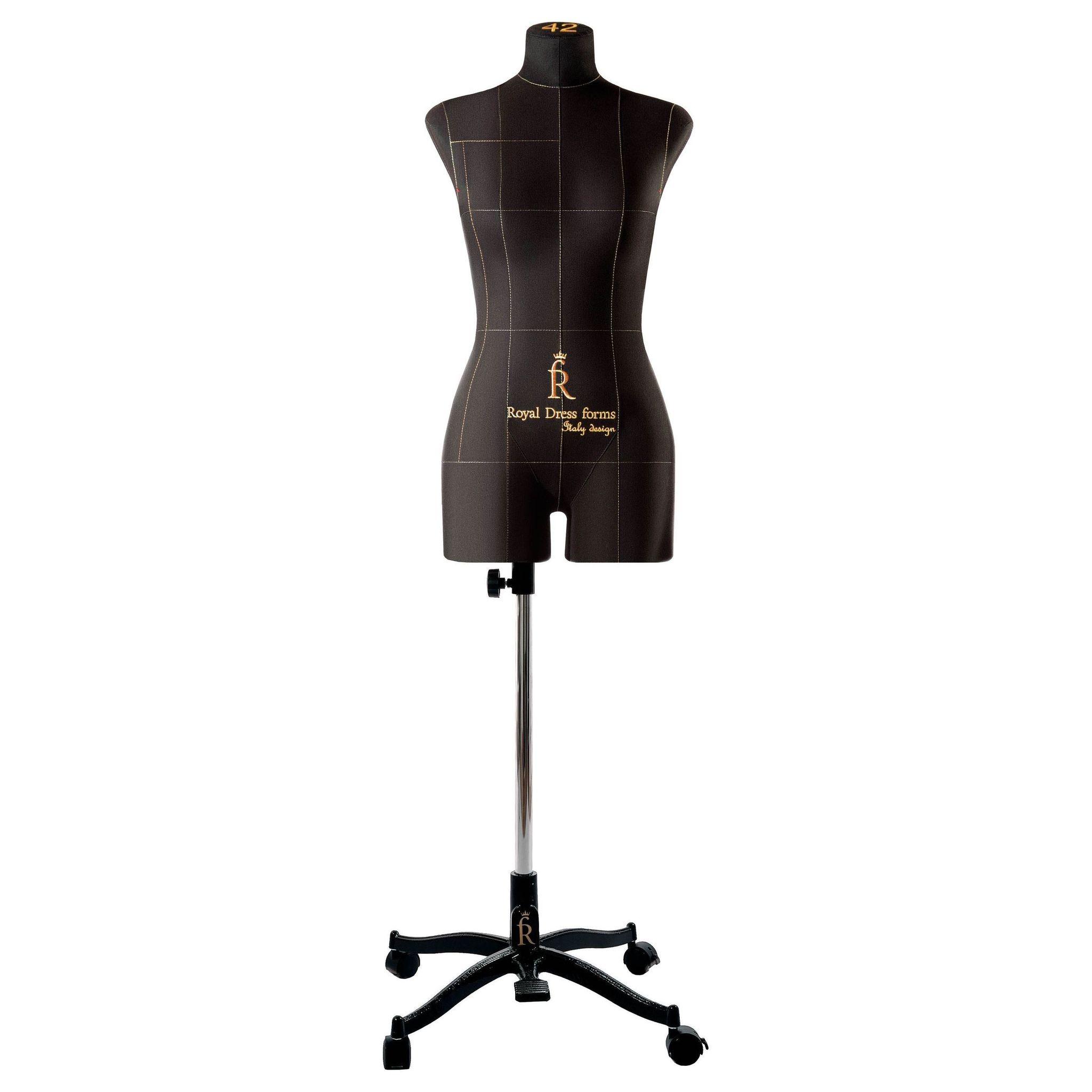 Манекен портновский Моника, комплект Премиум, размер 42, ЧерныйФото 3