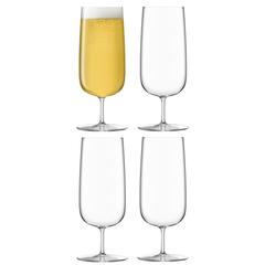 Набор из 4 бокалов для пилснера Borough 440 мл, фото 1
