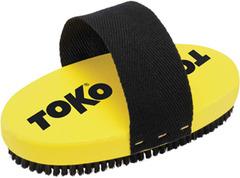 Щётка Toko ручная, овальная,конский волос 10 мм