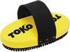 Картинка щетка Toko ручная, овальная,конский волос 10 мм  - 1