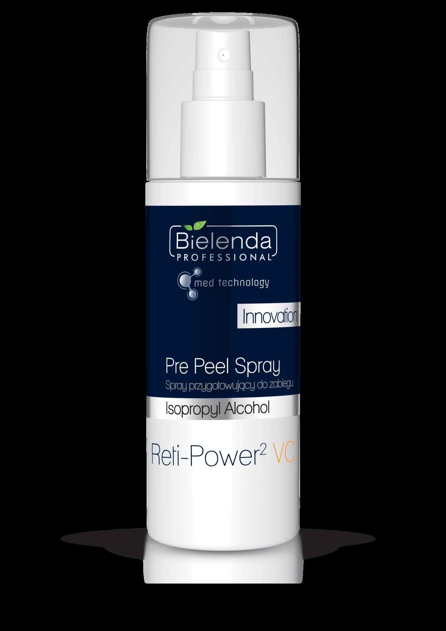 Reti-Power2 VC PRE PEEL SPRAY обезжириватель для кожи, подготавливающий к процедуре