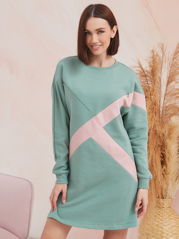 Платье Ума Зеленый гранит