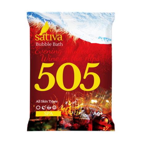 Пена для ванны Вечерний глинтвейн в Альпах №505 | Sativa