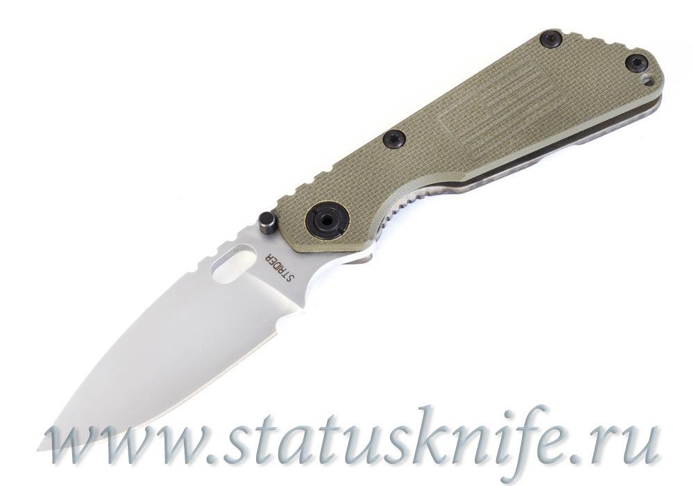 Нож Strider SNG Hard Chrome Armoloy