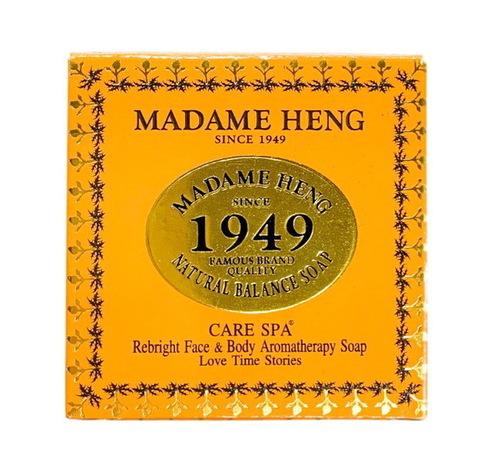 Спа-мыло Natural Balance с куркумой и мёдом для лица и тела Gold Luxury, Madame Heng 150 гр.