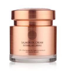 Крем для лица с экстрактом икры лосося CRE8SKIN Salmon Oil Cream 80гр