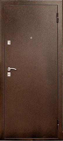 Дверь входная УД-104 стальная, миланский орех, 2 замка, фабрика Уральские двери