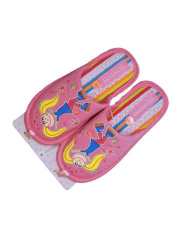 Тапочки D-Pl-PM025 розовые