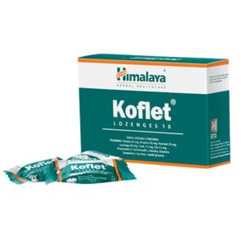 Himalaya  Koflet Леденцы от кашля и боли в горле, 10 шт