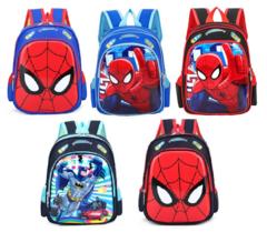 Супергерои Человек паук и Бэтмен детский рюкзак