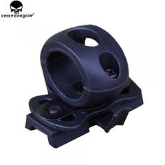 Крепление для фонаря Emerson Fast Helmet Rails Single Clamp, черное, новое