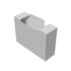 Органайзер для карт Uniq Card-File Standard - 30 mm (белый)