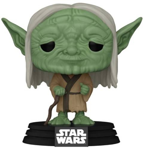 Фигурка Funko POP! Bobble Star Wars Concept series Yoda 50112