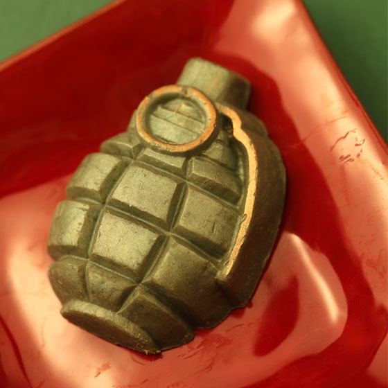 Мыло Граната. Пластиковая форма