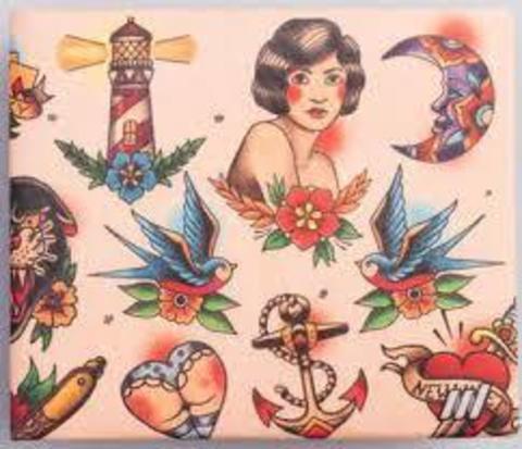 Экологичный бумажник New Tattoos