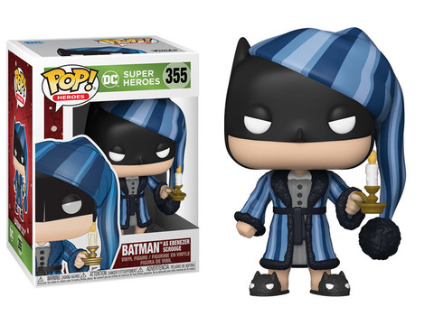 Funko Pop! DC Christmas Batman ||  Бэтмен - Эбенезер Скрудж