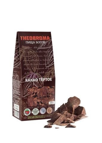Какао тертое натур. 250г Theobroma