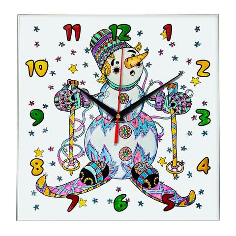 Часы с раскраской для детей