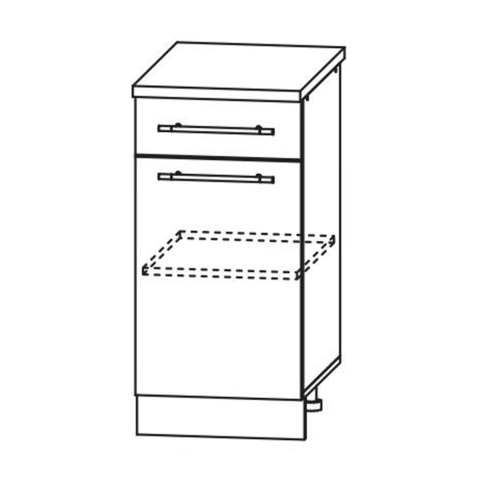 Кухня Вита шкаф нижний (1 ящик) 850*400