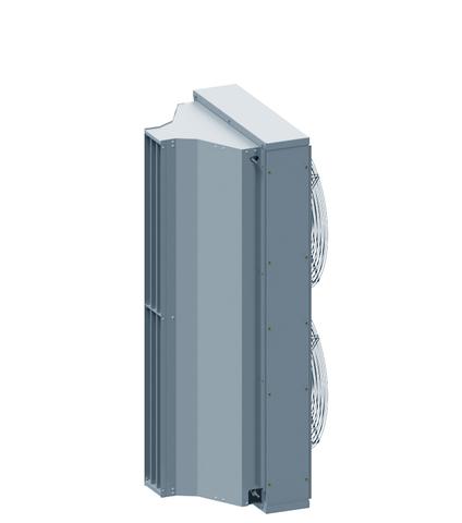 Завеса без нагрева Тепломаш КЭВ-П7010A серия 700 IP21 (Длина 1,5м)