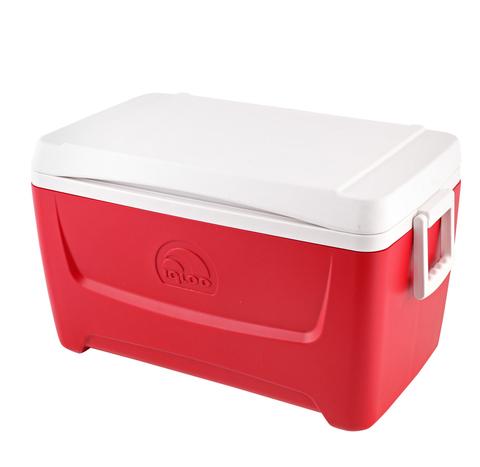 Изотермический контейнер (термобокс) Igloo Island Breeze 48 (45 л.), красный