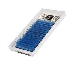 Цветные ресницы BARBARA (лазурные) МИКС (D 0.10 7-15mm)