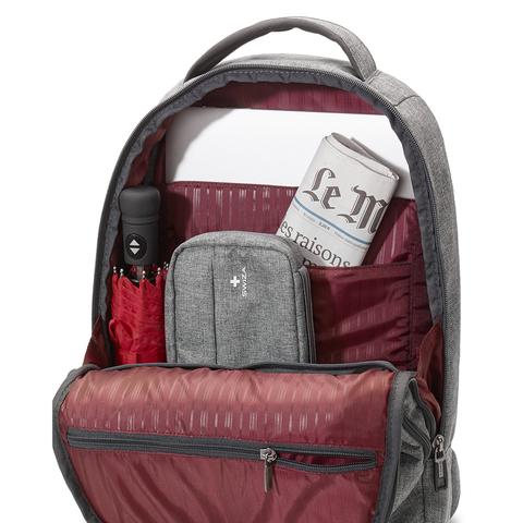 Рюкзак студенческий SWIZA Portas, серый